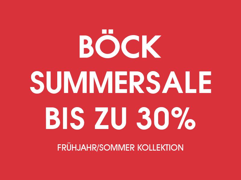 Böck Sale 30%